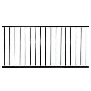 Village Ironsmith 6 foot long X 36 inch high railing with 4 inch spacing on  spindles