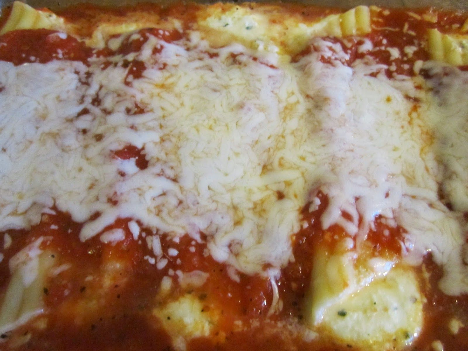Mary's Busy Kitchen: Go Meatless One Night With This Three-Cheese Manicotti