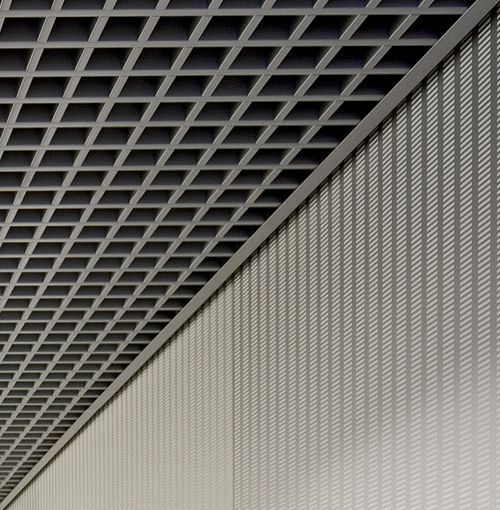 Hunter Douglas Open Cell Ceiling System Cell Ceiling