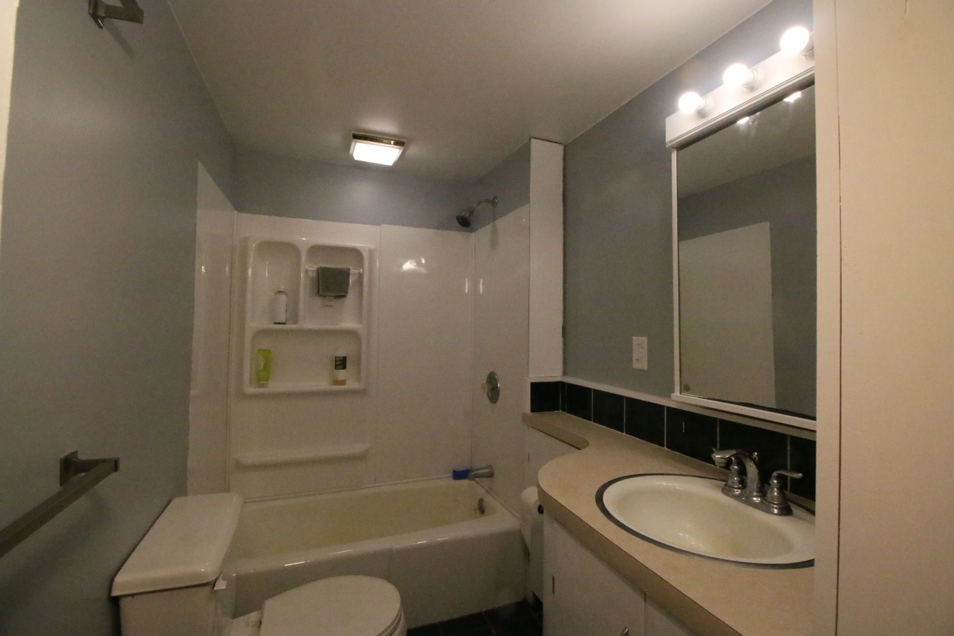 Bathroom after painting | Bathroom mirror, Home remodeling ...