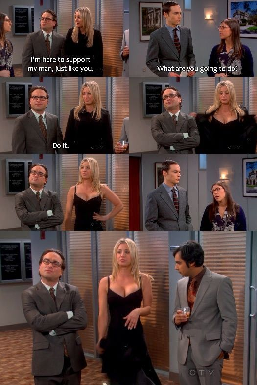 I love Big Bang theory! My family always tells me I'm like Penny.. Eh seems about right;)