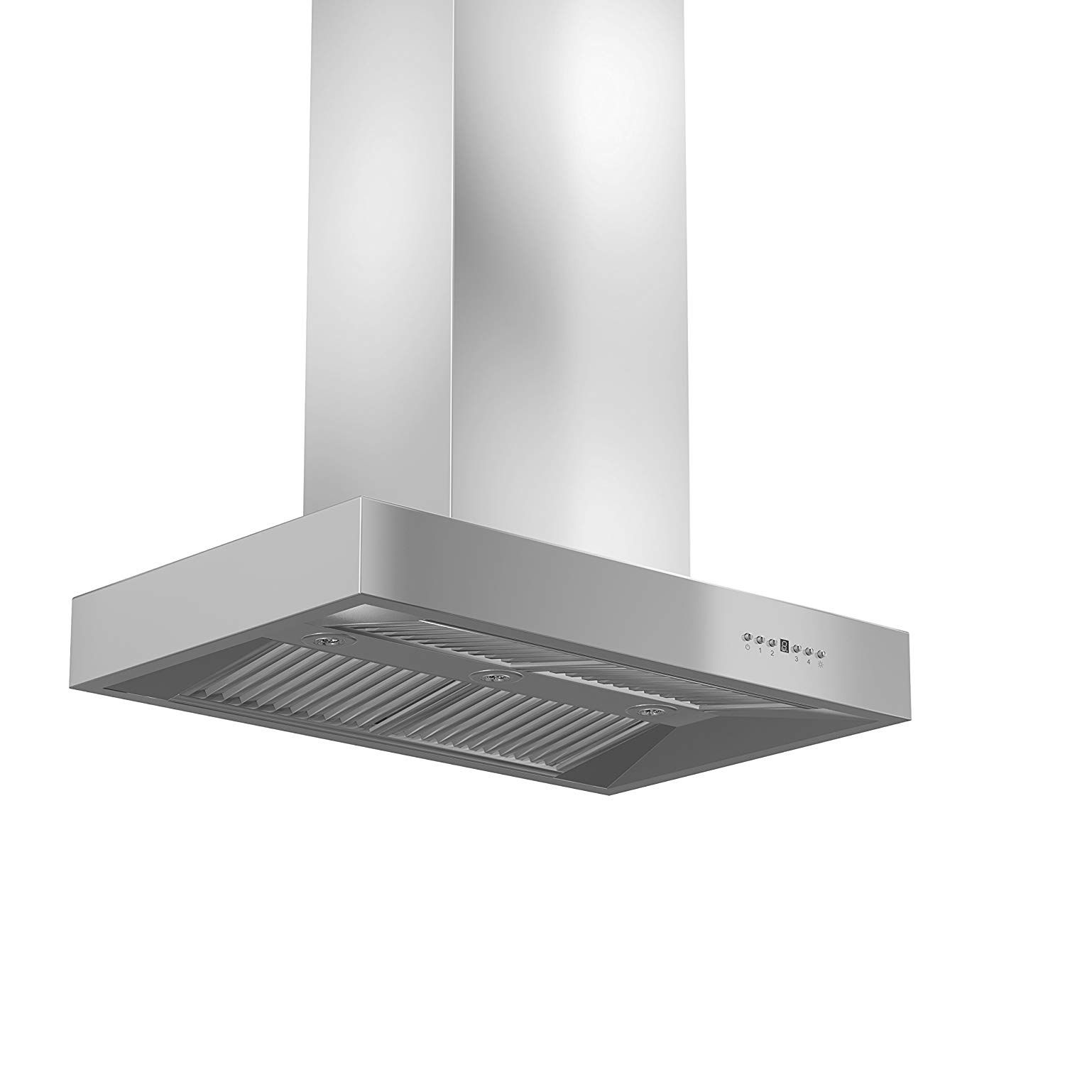 Z Line Kecomi Rd 36 1200 Cfm Island Mount Range Hood With Remote Dual Blower 36 Stainless Steel Island Island Range Hood Range Hood