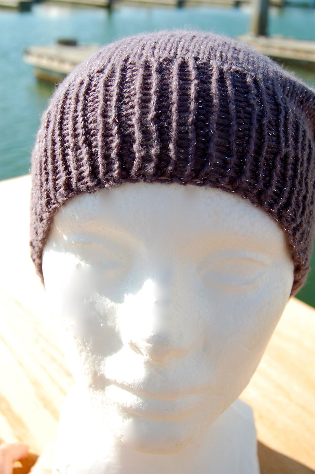 "85a2f67bd34 Here s a new pattern for your head to enjoy!! Super Simple Slouchy Beanie©  Designed by Alena Woods aka "" Buters "" on Ravelry www.bi."