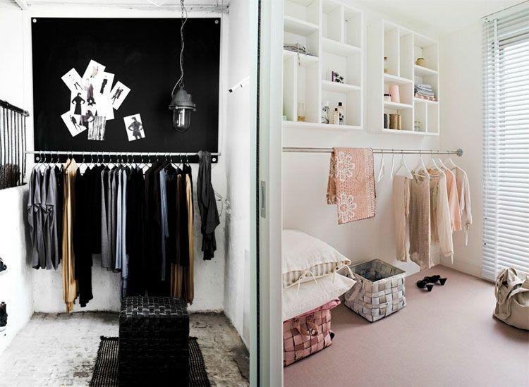 Perfecte Kamer Inloopkast : Een inloopkast in een kleine kamer plaatsen? lees hier hoe