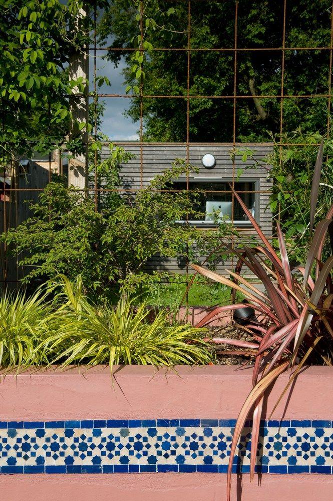 Moroccan garden in Walthamstow East London   Moroccan ...