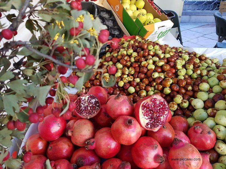 Spanish Fruit A Seasonal guide to Quince, Chirimoya