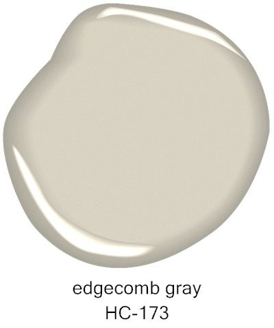 #BenjaminMoore Edgecomb Gray HC-173