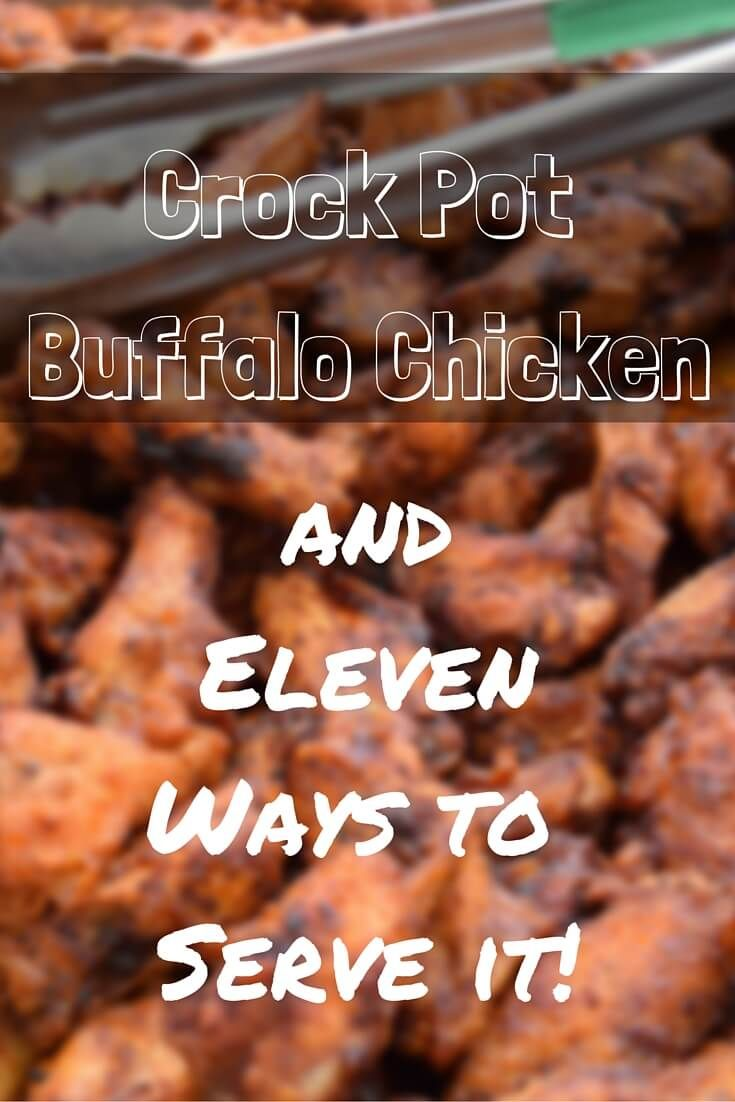Love the taste of wings but not the mess of making them at home? Try this slow cooker buffalo chicken recipe instead. Easy and delicious!