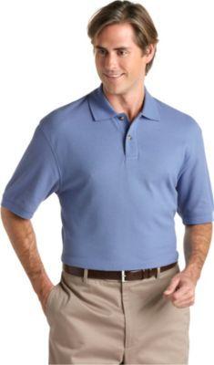 Blue Golf Shirt | Business casual men