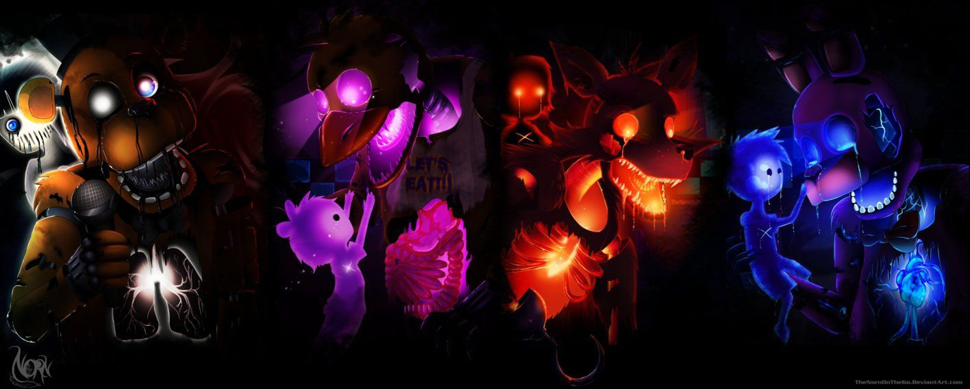 Five Nights At Freddys Wallpaper By Thenornonthego On Deviantart