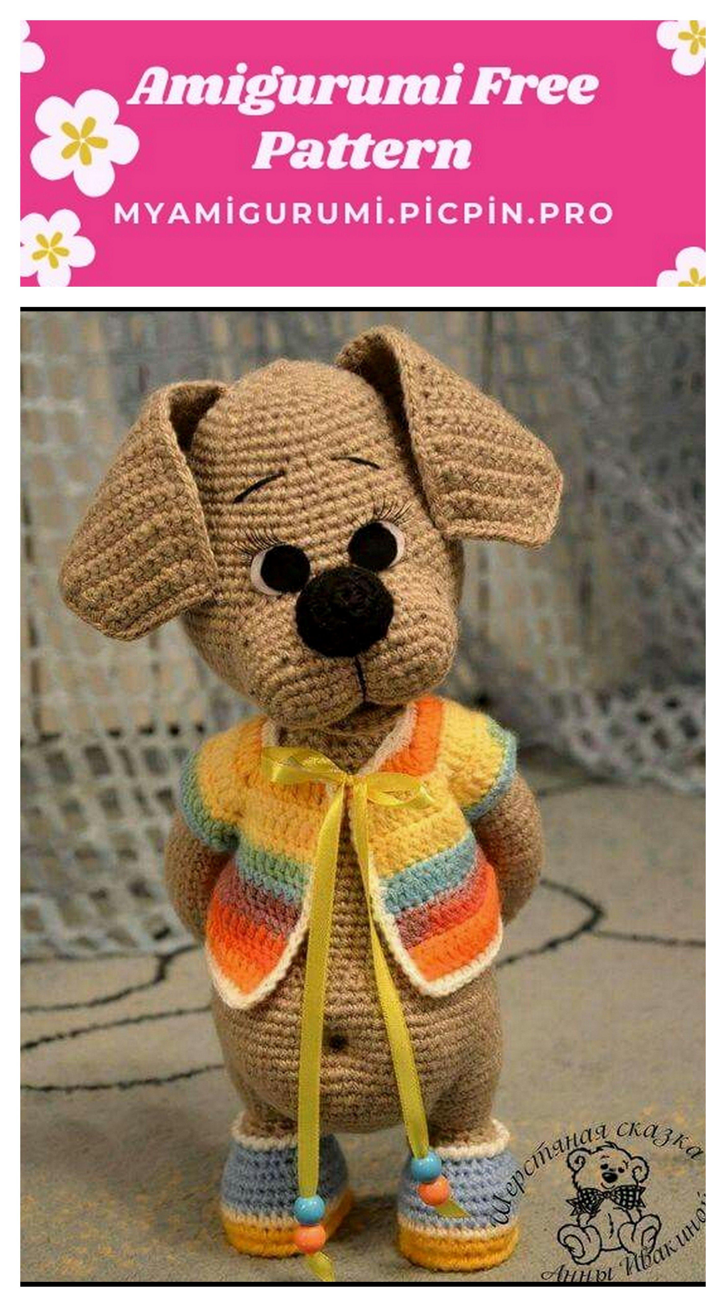 Grandmother's Pattern Book Crochet Amigurumi Dogs – free patterns ... | 5120x2845