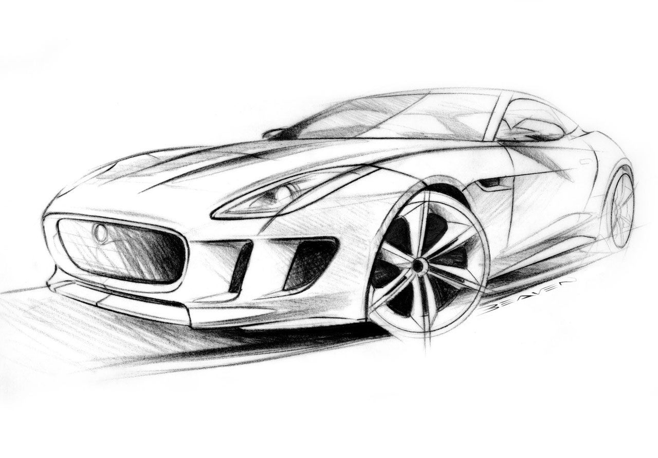Concept drawing (jag) | Concept Vehicles | Pinterest | Sketches, Car ...