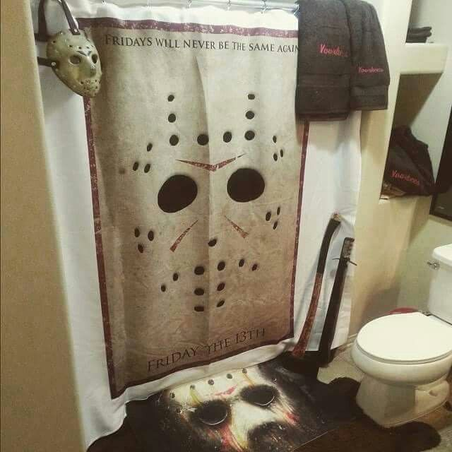 Wish This Was My Bathroom Horror Decor Horror Room Halloween