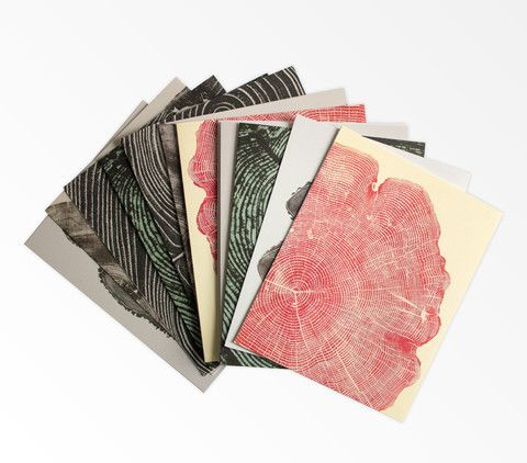 Princeton Architectural Press: Woodcut Notecards Hudson Made $16