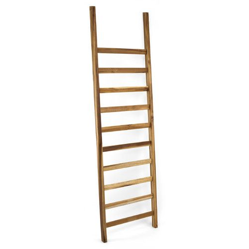 Found It At Wayfair Takara 5 Ft Wood Straight Ladder Ladder Decor Blanket Ladder Decor
