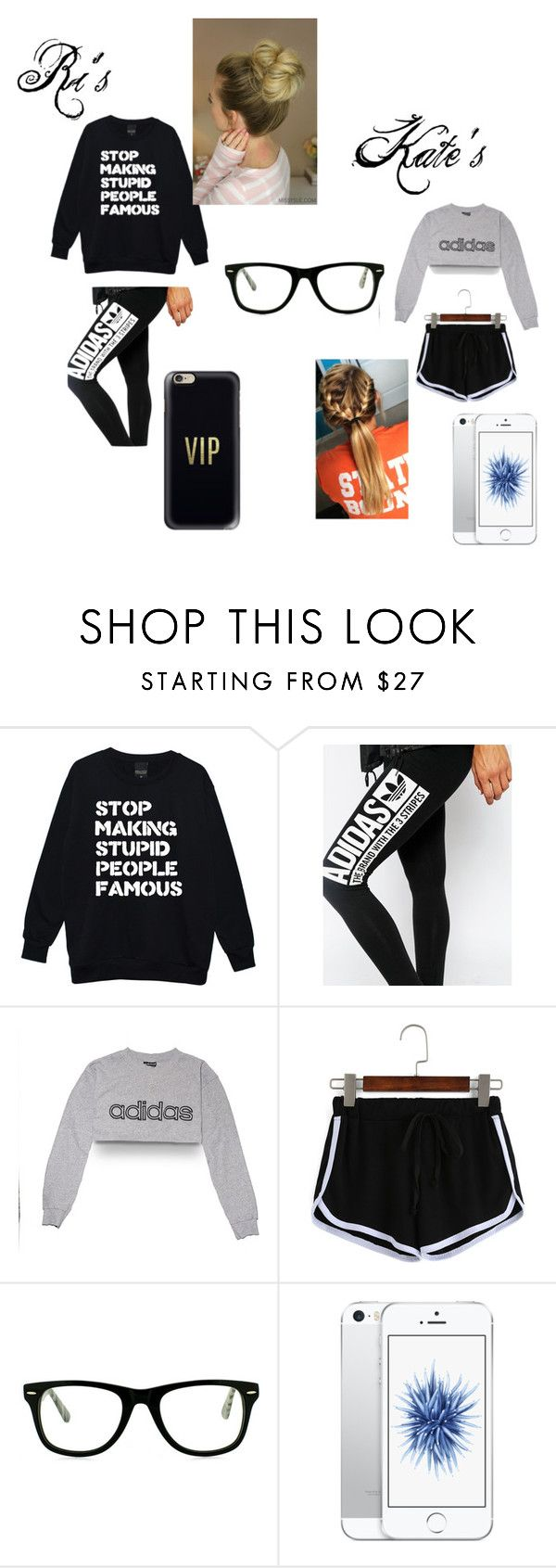 """""""Sleepover"""" by riley-mcmullen ❤ liked on Polyvore featuring adidas, Muse and Casetify"""