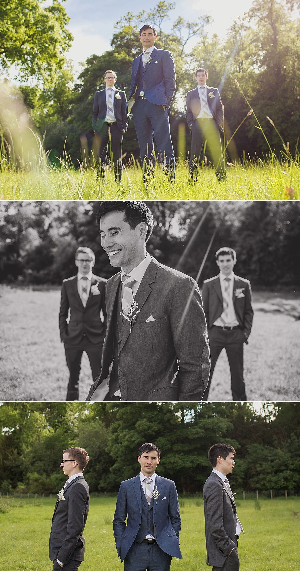 I love this look for a summer wedding.  A lightweight suit for a UK Wedding.  Lartington Hall Wedding www.pauljosephphotography.co.uk