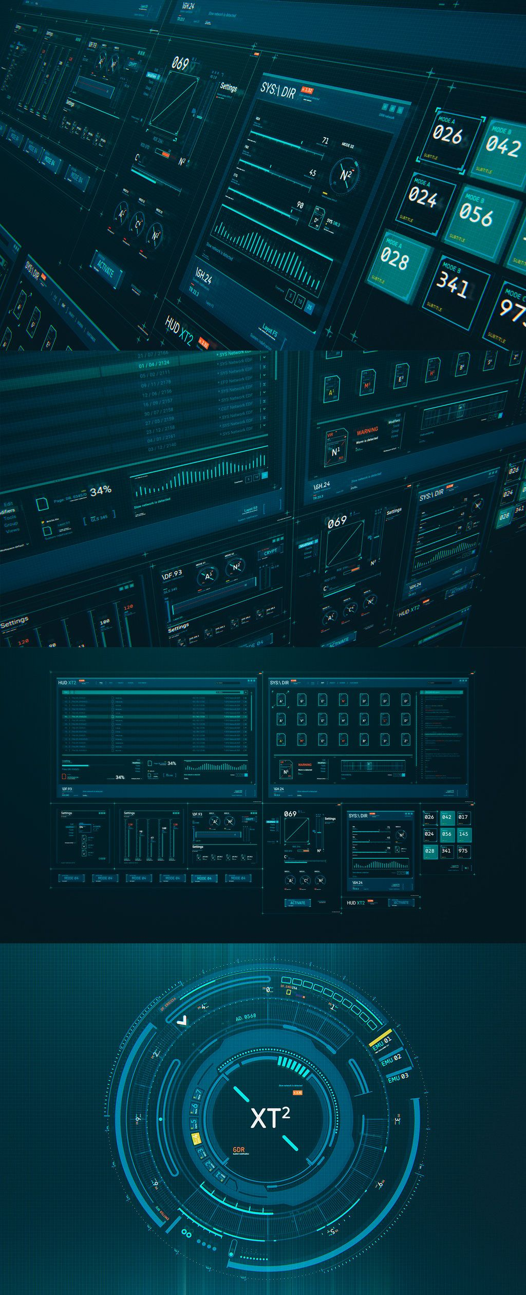 HUD GUI Kit XT2 by TIT0 on DeviantArt
