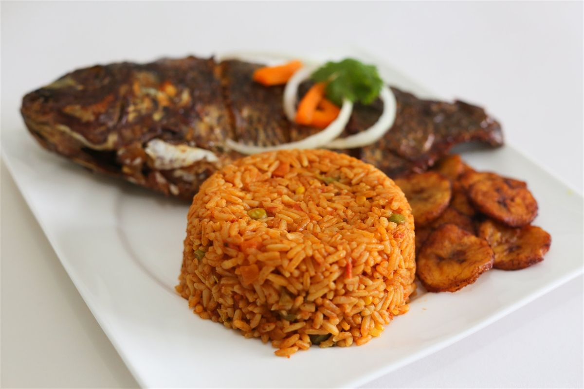 how to cook jollof rice with fish