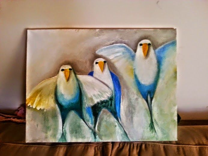 art for your spaces: Feathered Flyers....