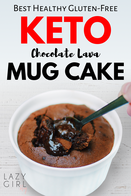 This easy microwave keto mug cake recipe is best healthy ...