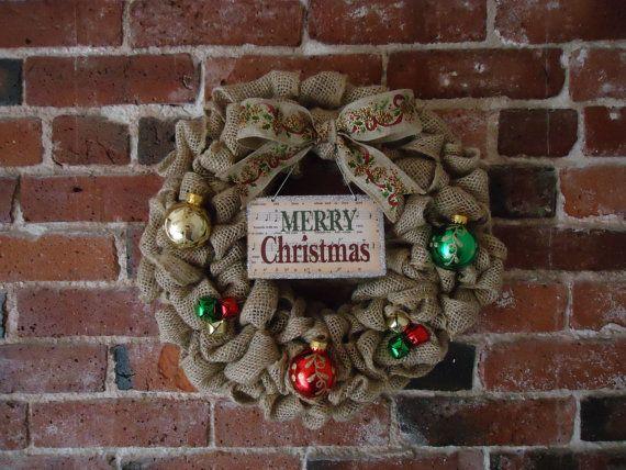 Christmas Wreath  Holiday Wreath  Winter by adorableaDOORnments #HEPTEAM