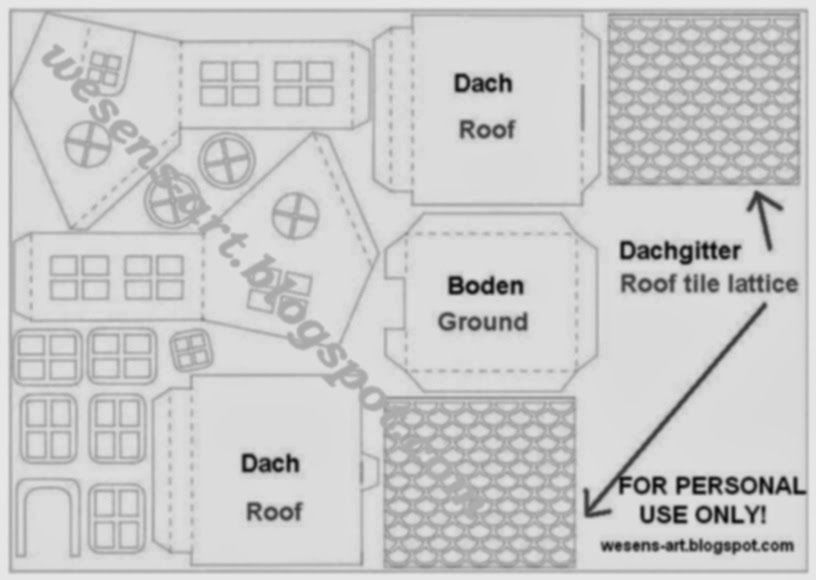 WesensArt PapierHaus  Paper House  Ev    Paper