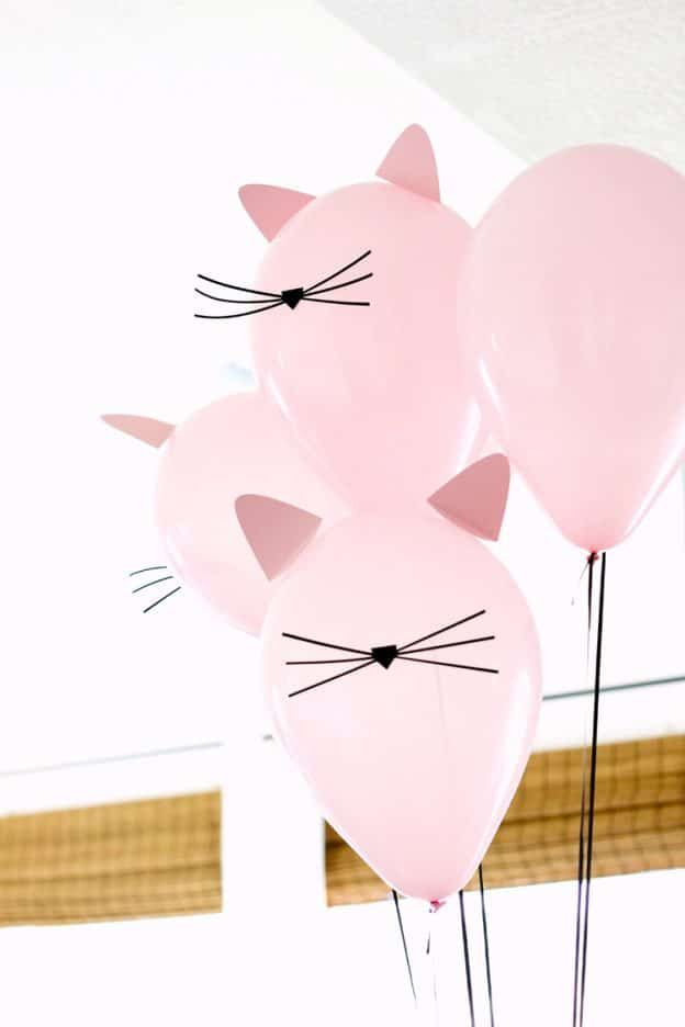 30 Cute Cat Birthday Party Ideas #katzengeburtstag