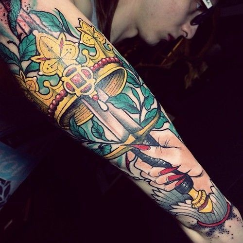 Ace Of Swords Google Search Ace Of Swords Tattoos Sword Tattoo