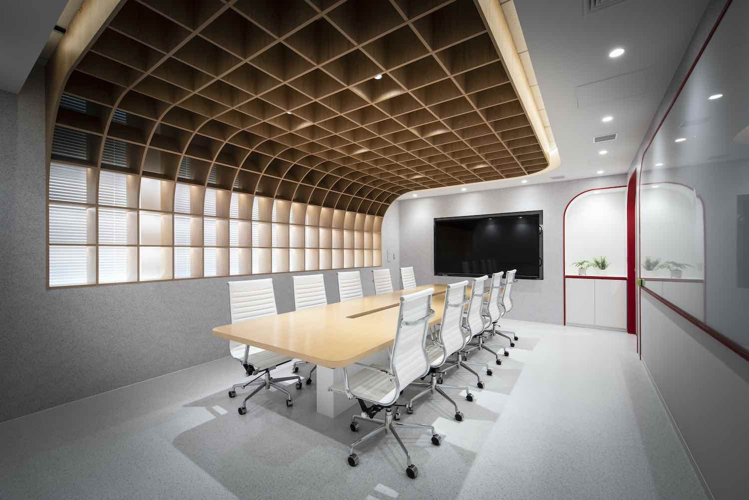 Fontworks Inc Tokyo Head Office Designed By Prism Design In 2020 Cafe Interior Design Office Design Design