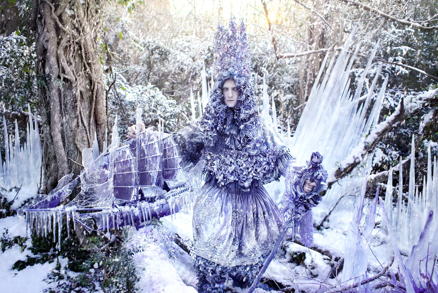 The Thousand Empty Days of a Frozen Heart - Kirsty Mitchell Photography