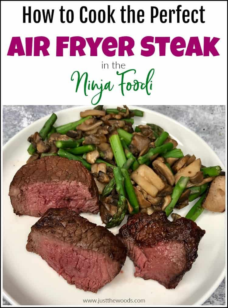 How To Cook The Perfect Air Fryer Ninja Foodi Steak Recipe Air Fryer Dinner Recipes Air Fryer Recipes Healthy Air Fryer Recipes Steak
