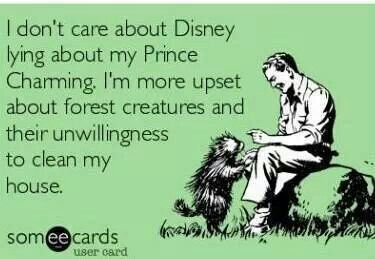 I think this is what every woman really wants in her fairy tale.