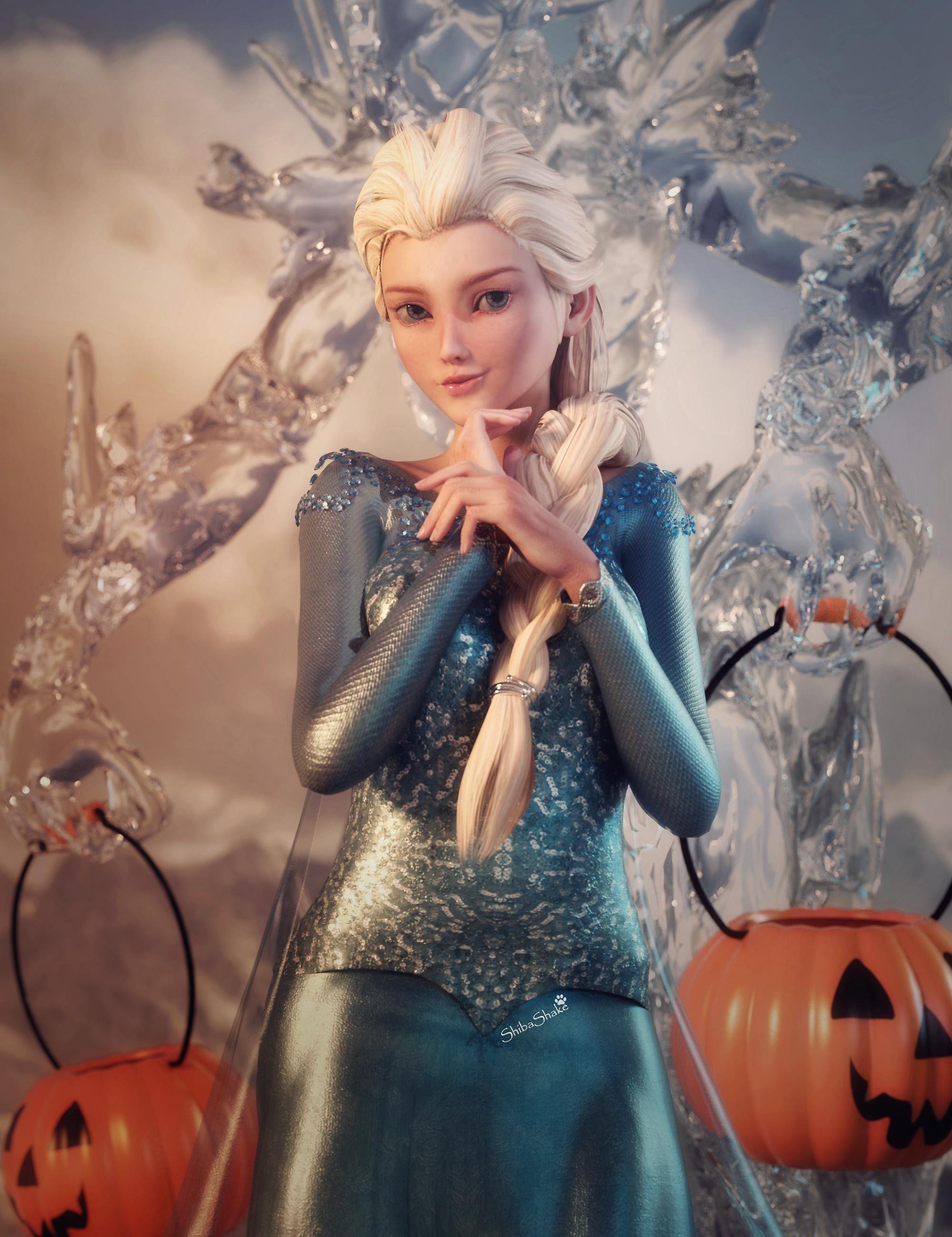 A Frozen Halloween Daz3d Art Frozen halloween, Game of