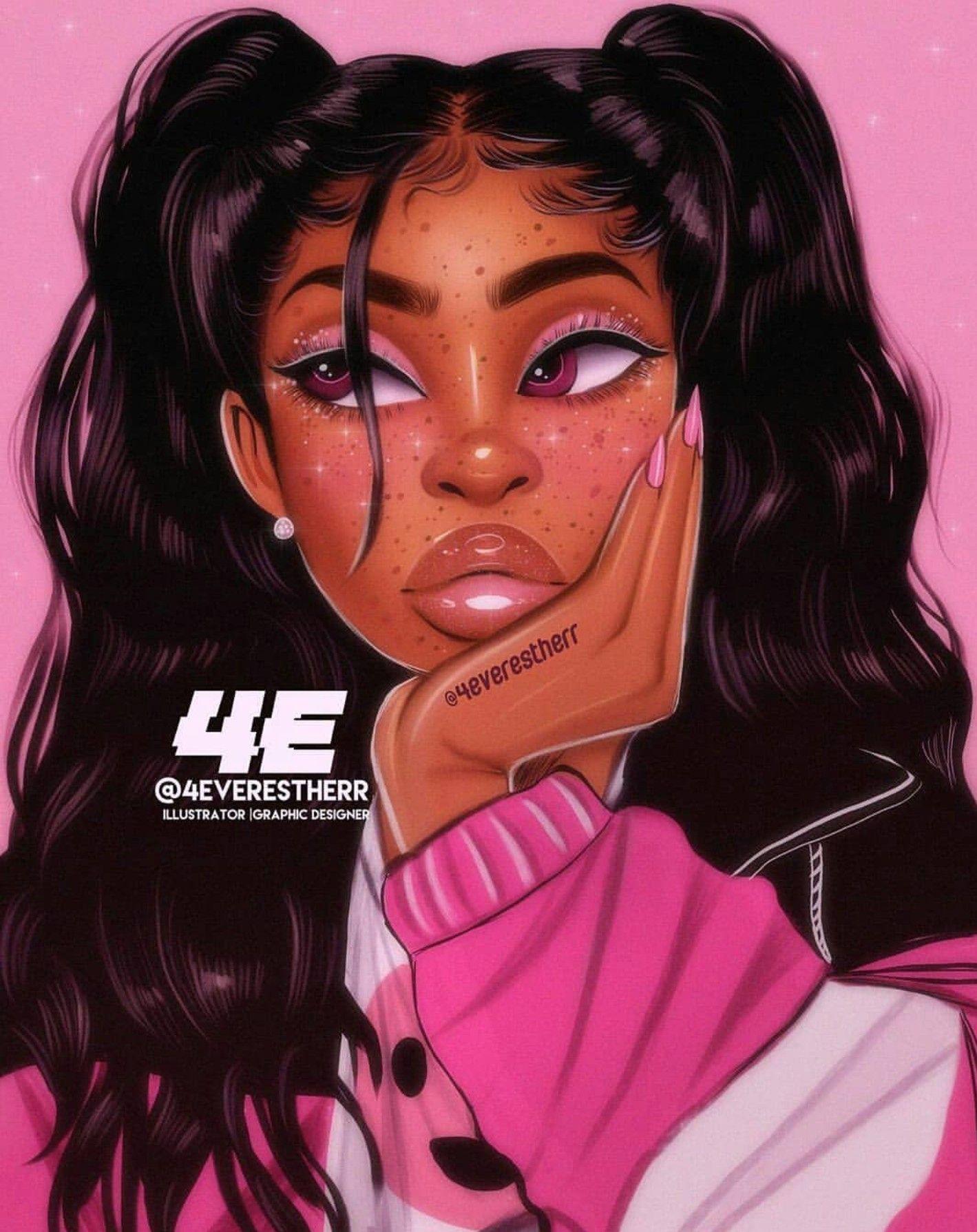 Black Girl Aesthetic Art