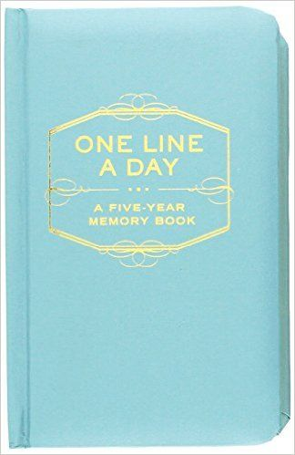 Amazon.fr - One Line a Day: A Five-Year Memory Book - Chronicle Books Staff - Livres