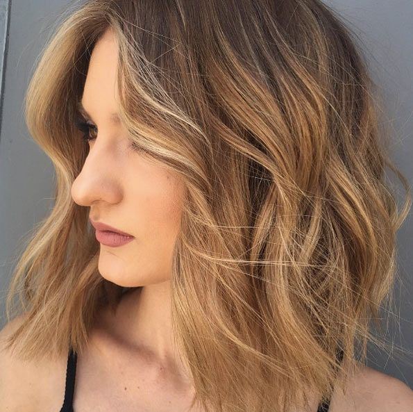 Layered Hairstyles Face Frame Low Maintenance Haircuts For Medium Hair 5