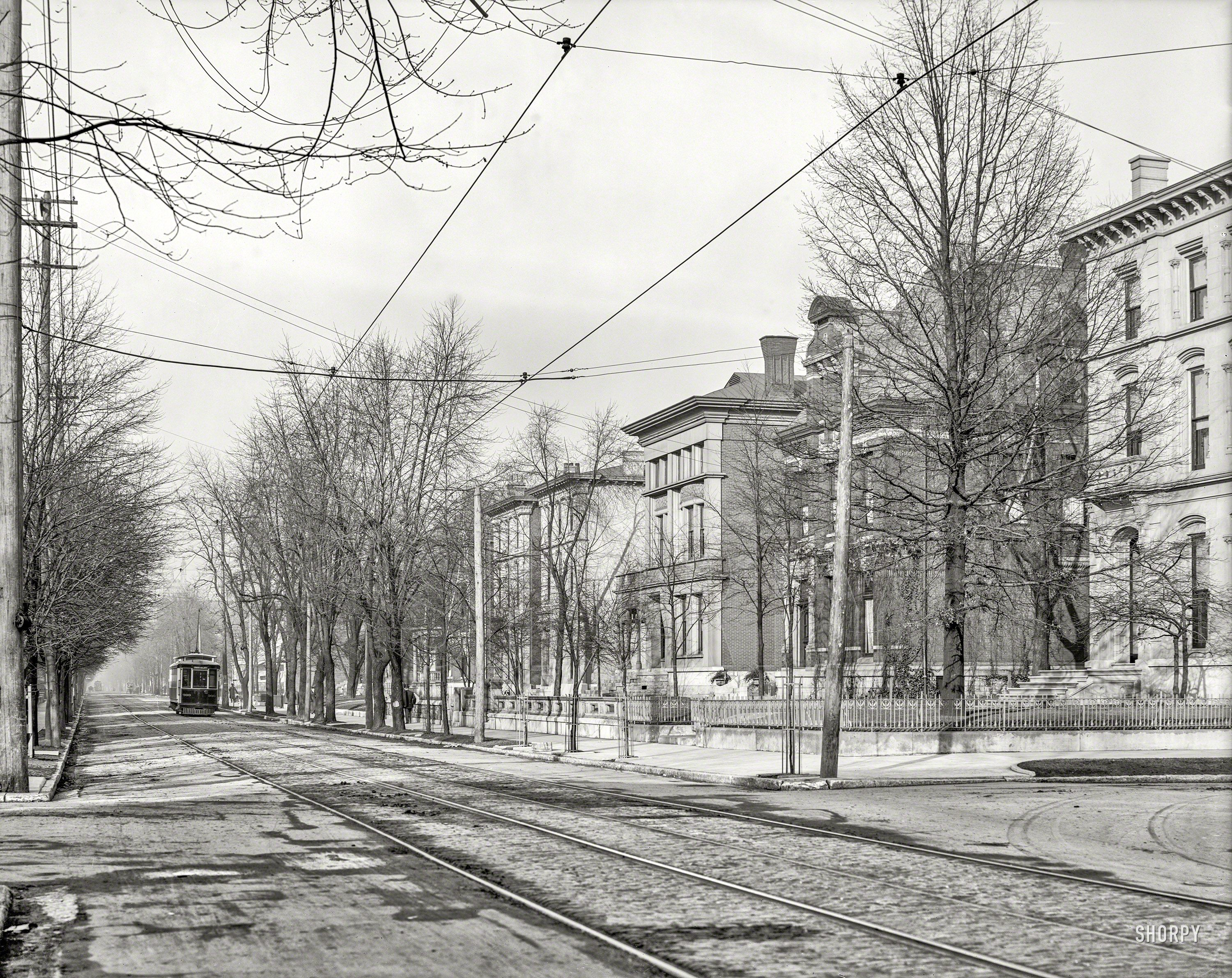 Circa 1906 Fourth Avenue Louisville Kentucky Shorpy Historic Picture Archive Louisville Ky Old Photos Canvas Art Prints