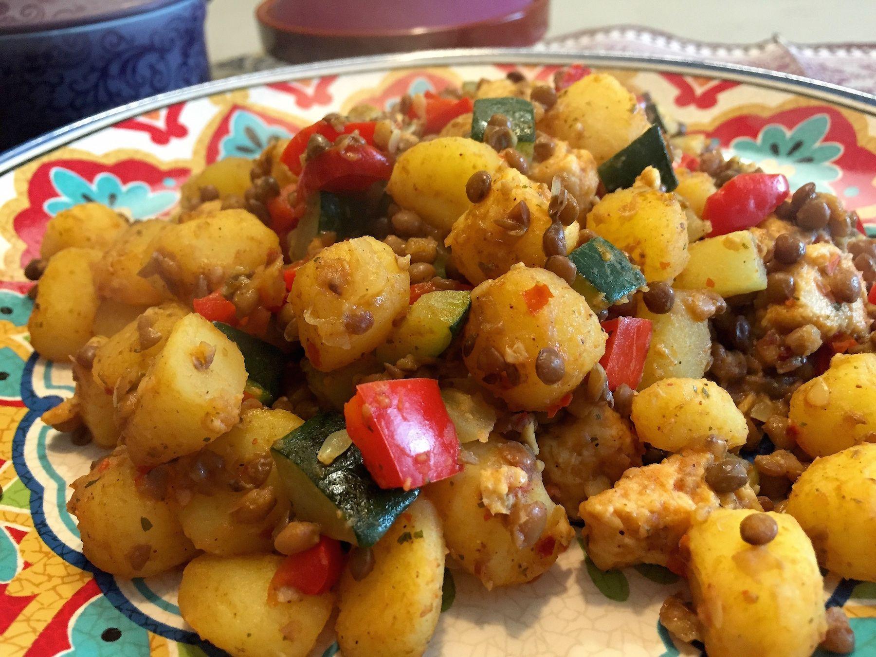 Marokkaanse aardappelschotel | Wessalicious