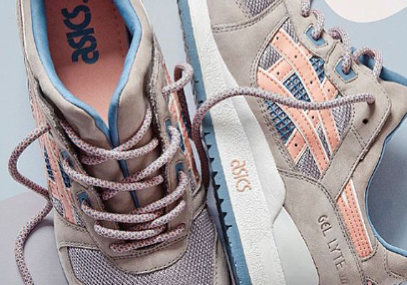 asics gel lyte 3 damen flamingo