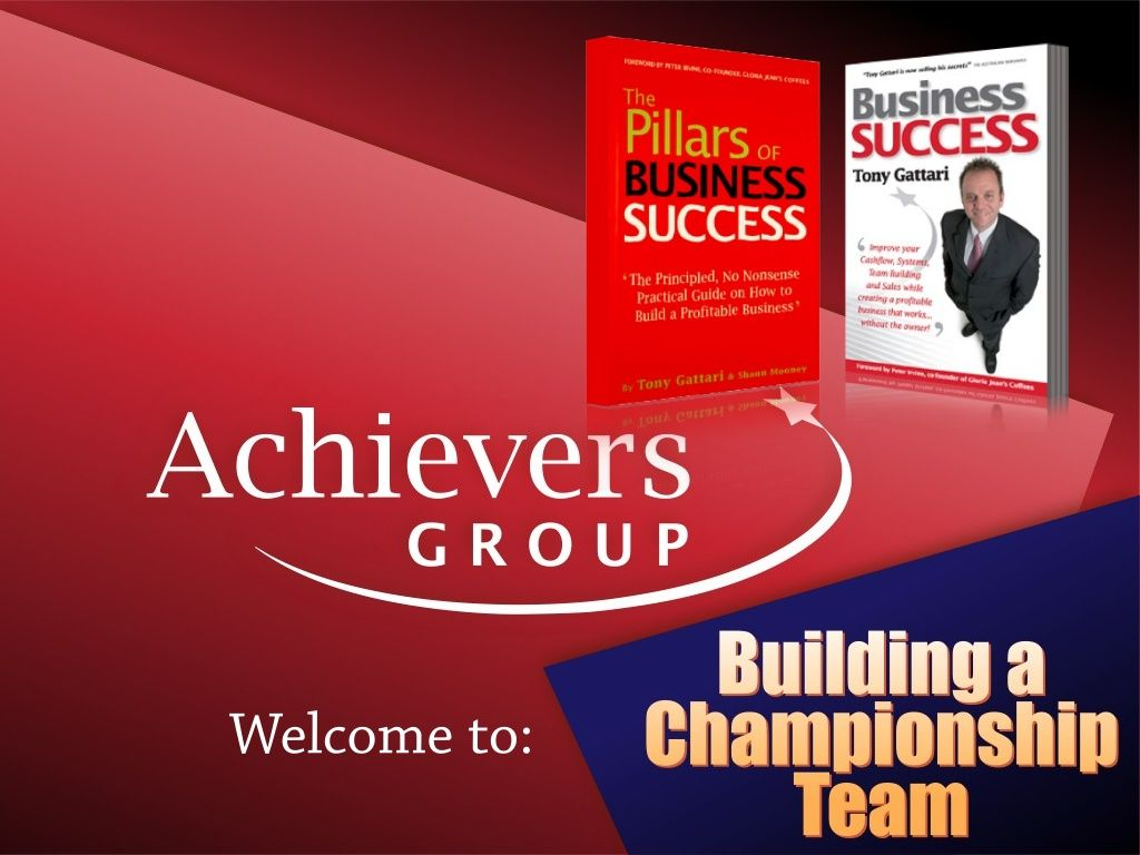 How to create, build and inspire a high performance team!  by Achievers Group (Australia) via slideshare