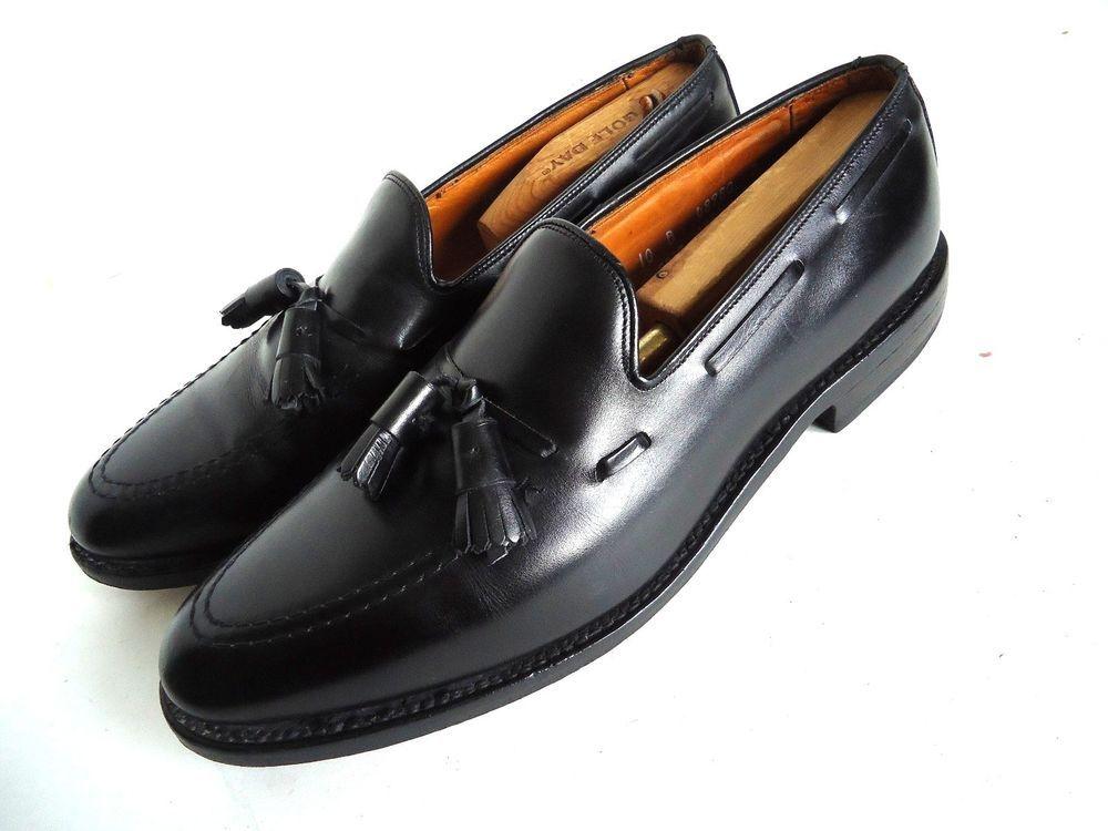 45a84c6239e ALLEN EDMONDS MEN S GRAYSON TASSEL LOAFER BLACK DRESS SHOE 10B  345   AllenEdmonds  DressShoes