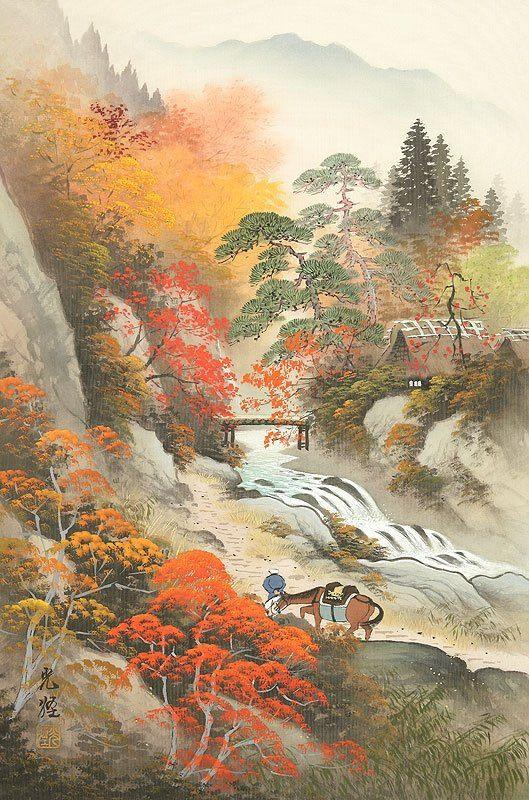 Koukei Kojima 小島光径 The Cherry Blossoms Art Japanese Art