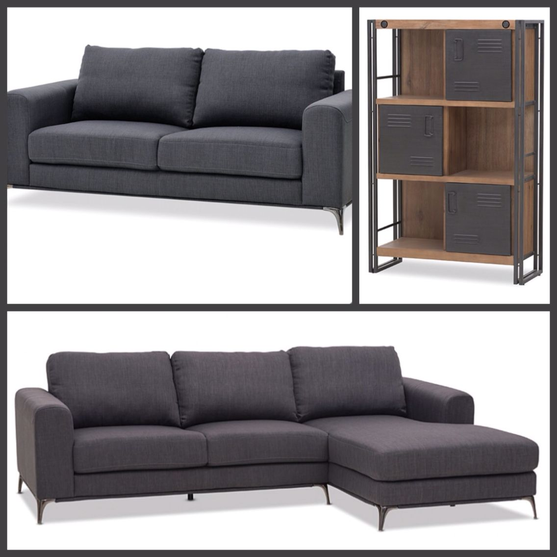 Super Amart Hurley Couches And City2 Bookcase