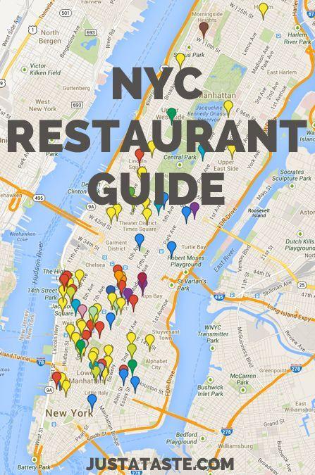 Map Of New York Restaurants.New York City Restaurant Guide Tips Nyc Travel City