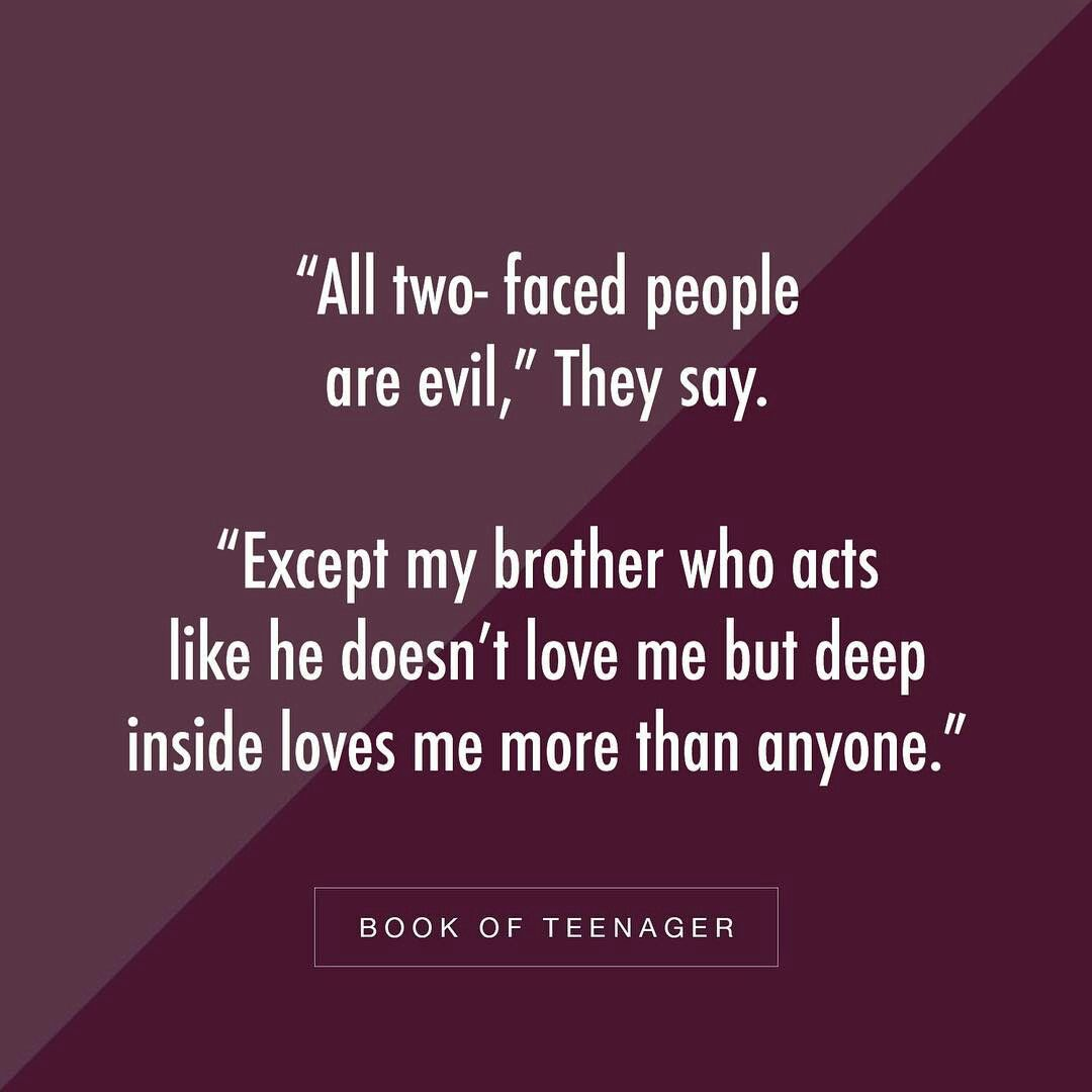 Its Really True Bcoz I Have A Bro N I Can Feel It When I Read That Funny True Quotes Sibling Quotes Friendship Quotes Funny
