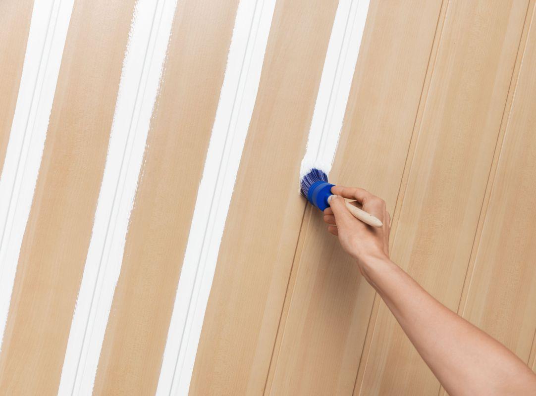 Pep Up Renovierfarbe Fur Holzvertafelungen Schoner Wohnen Farbe Holzvertafelung Vertafelung Schoner Wohnen Farbe