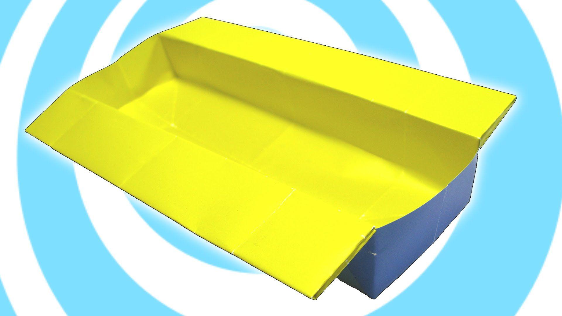 DIY: Easy Origami Long Box Tutorial #origami | Origami ... - photo#28