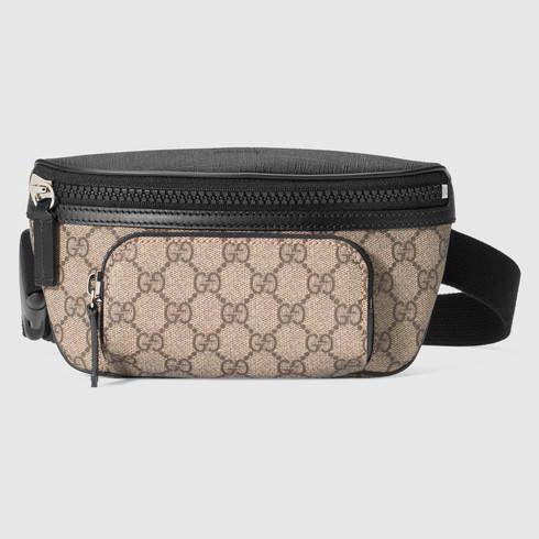 4e38ec0f95cc GUCCI Gg Supreme Belt Bag. #gucci #bags #leather #belt bags #canvas ...