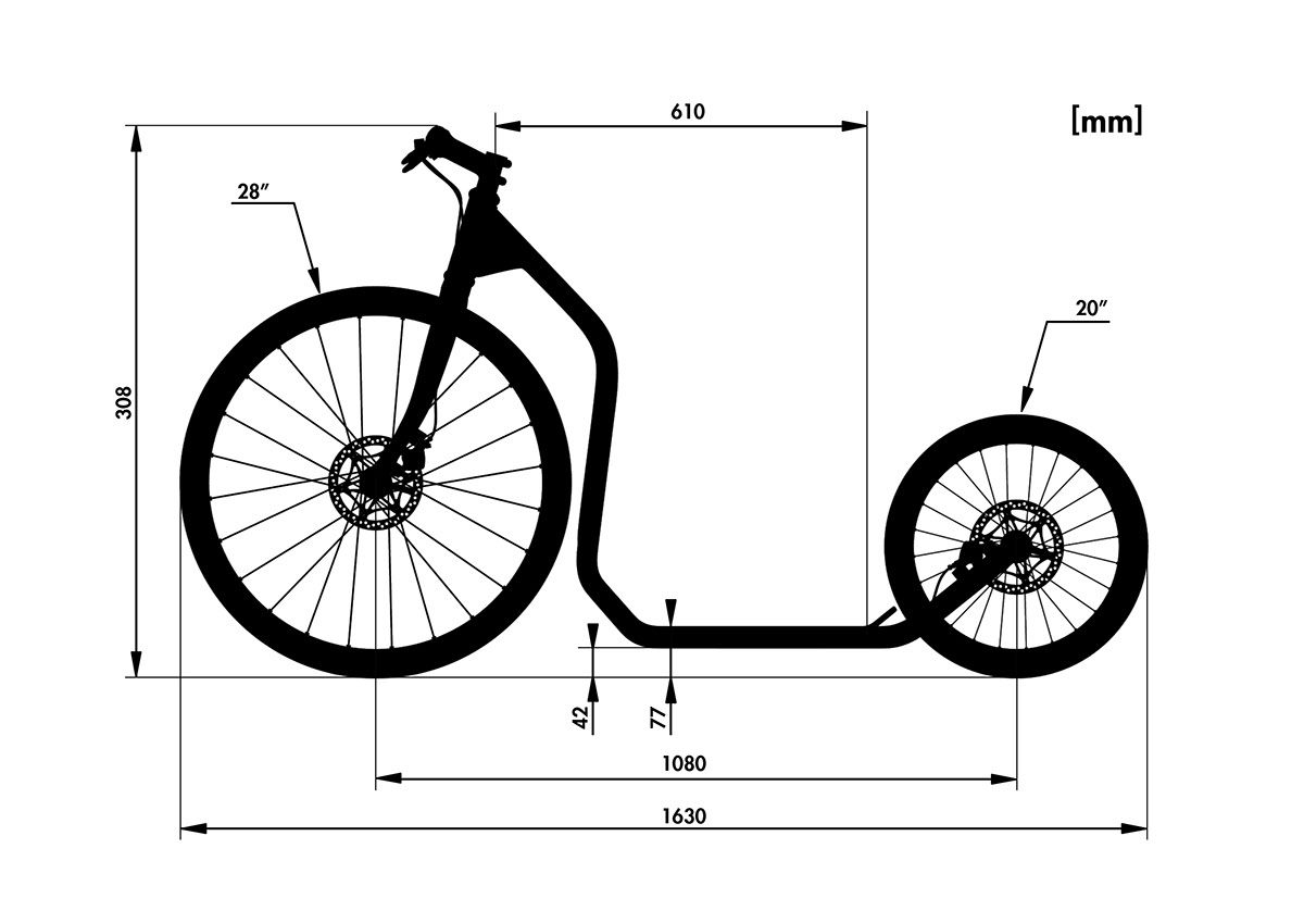 Design Of A Kickbike Frame Carros Para Criancas Bicicleta